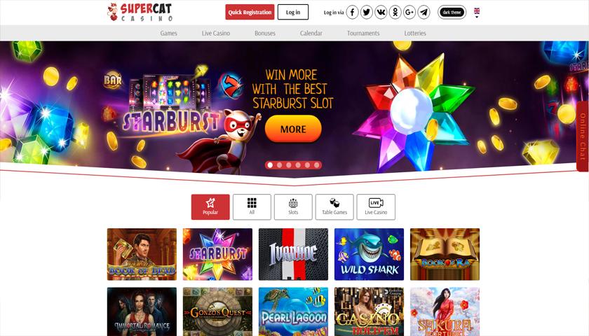 SuperCat-Casino-Screenshot